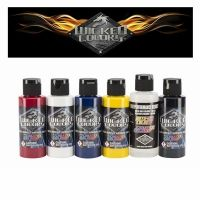 Pintura Aerografia Createx Wicked Detail Sampler Set