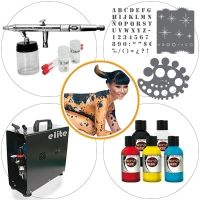 Airbrush Kit 018 Medium Level Bodypaint