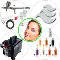 Airbrush Kit 035B Advanced Make Up