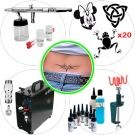 Airbrush Kit 040 Advanced Temporary Tattoo