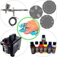 Airbrush Kit 042 Advanced Nail Art