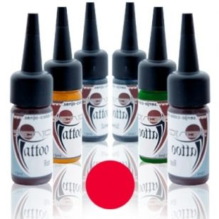 Senjo Tattoo Ink 15ml Rojo