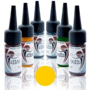 Senjo Tattoo Ink 15ml Amarillo