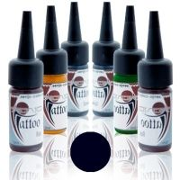 Senjo Tattoo Ink 15ml Negro Azulado