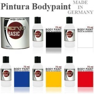 Senjo Bodypaint Kit 5 colores