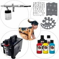 Airbrush Kit 004 Starter Bodypaint